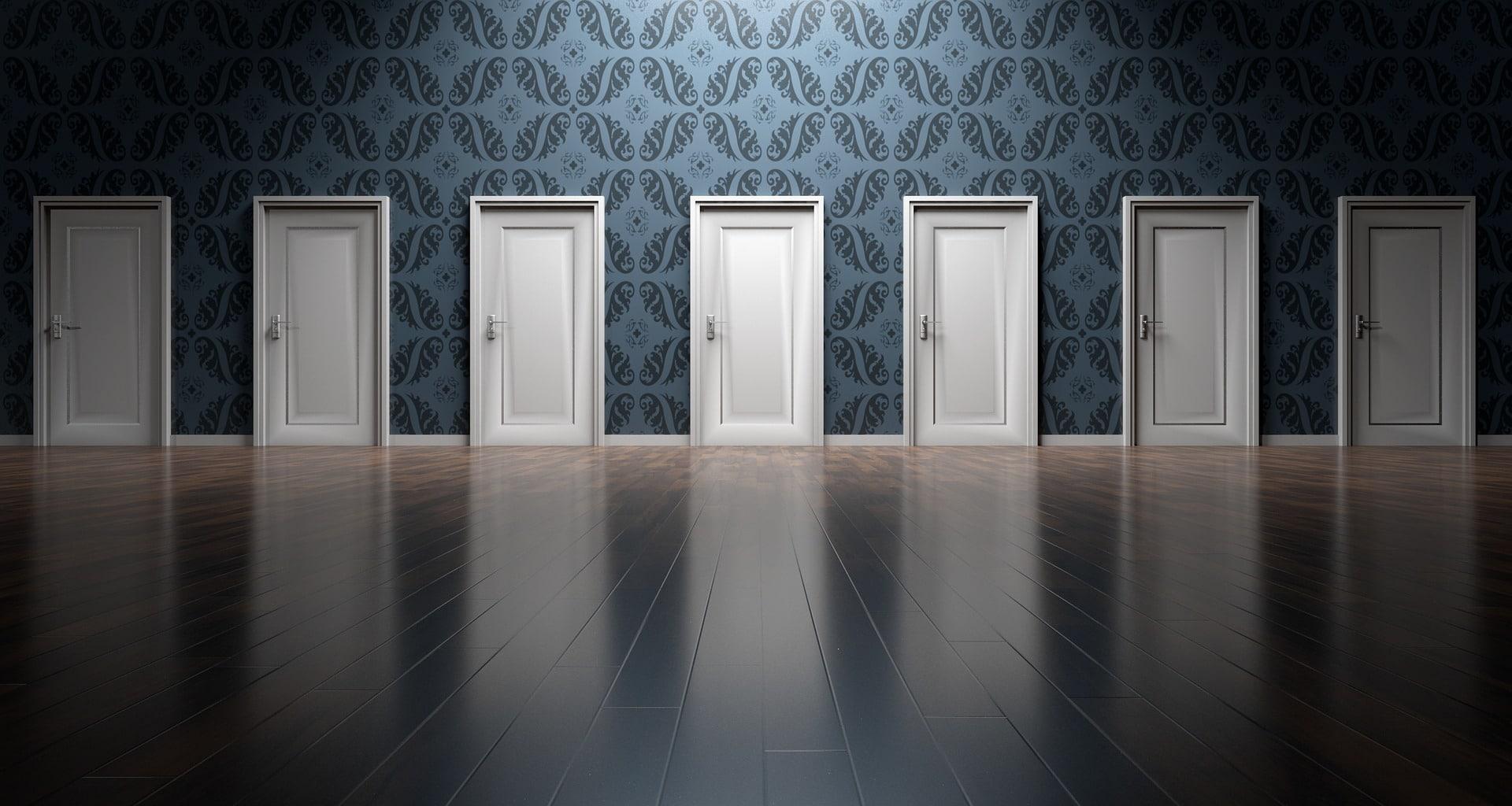 Viele Türen, viele Möglichkeiten